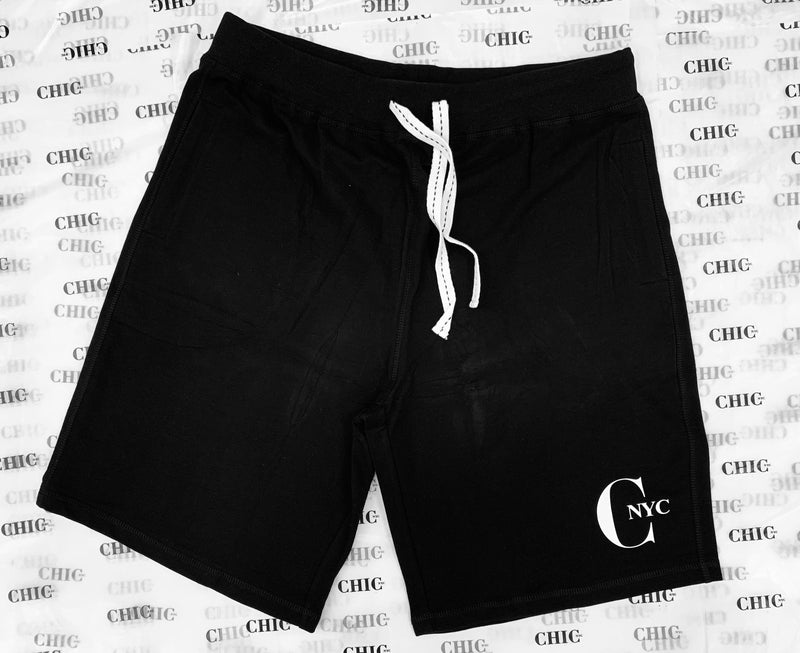 CHIC NYC MAN Black Bermuda Short