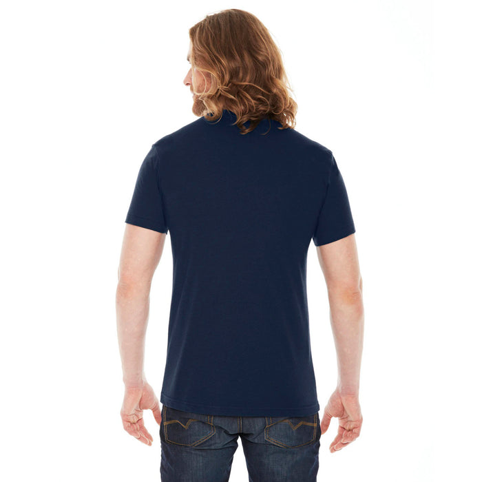 CHIC NYC MAN - Navy Blue Basic T-Shirt