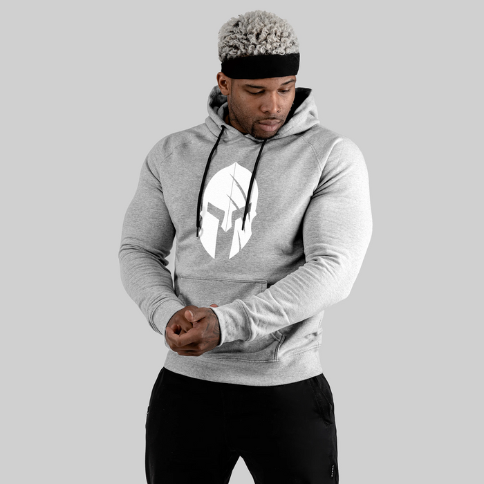 Spartan Fitness Hoodie - Light Grey