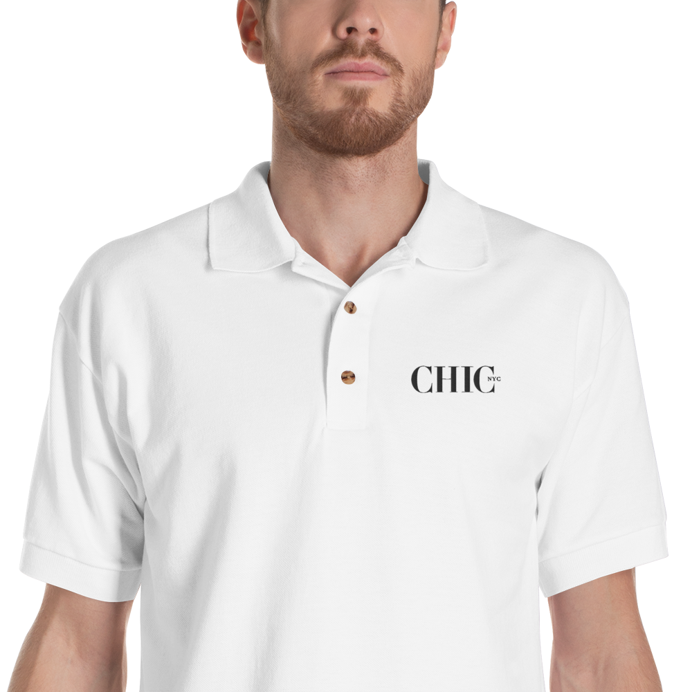 CHIC NYC POLO REGULAR FIT WHITE