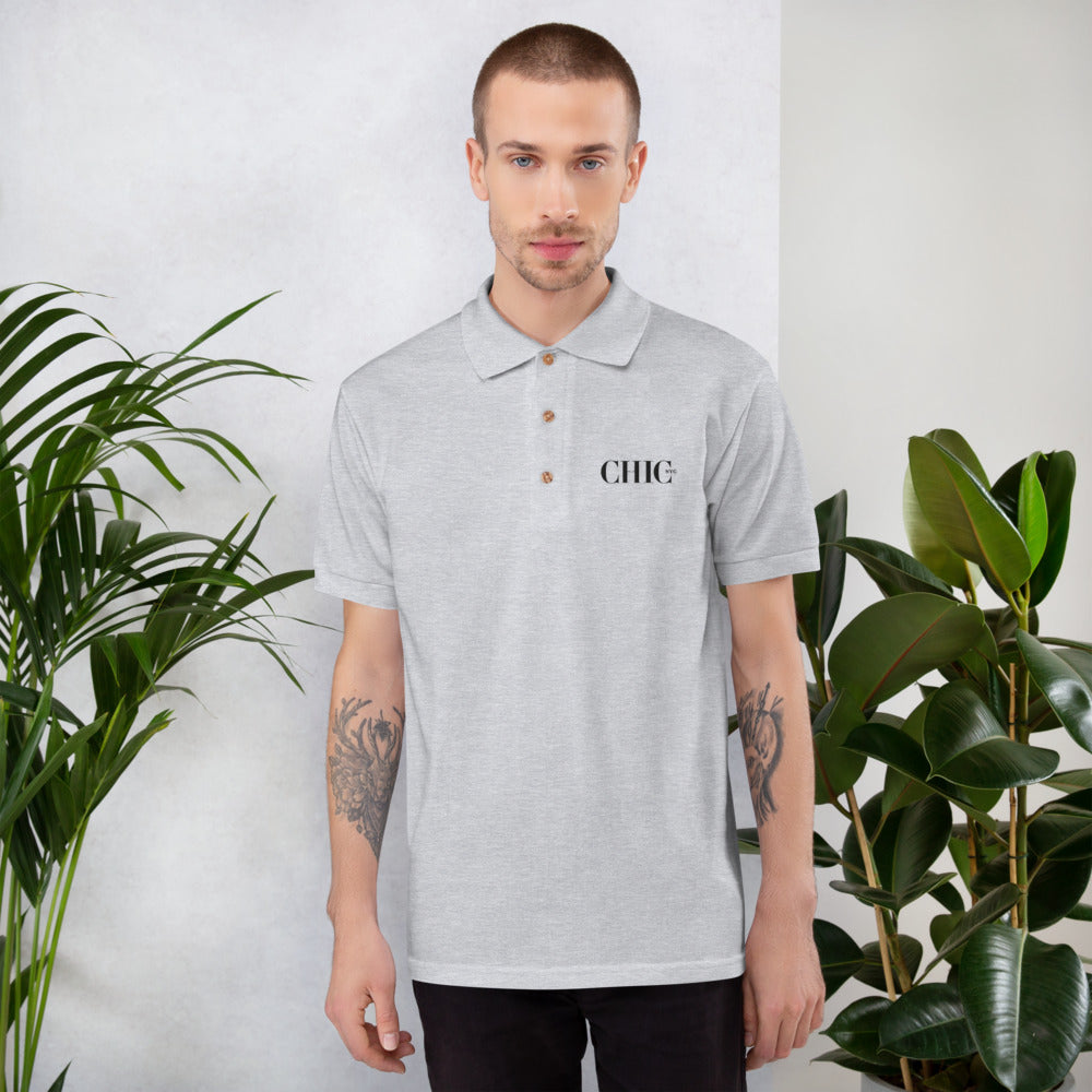 CHIC NYC POLO REGULAR FIT GRAY