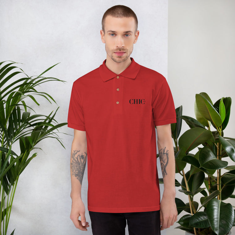 CHIC NYC POLO REGULAR FIT RED