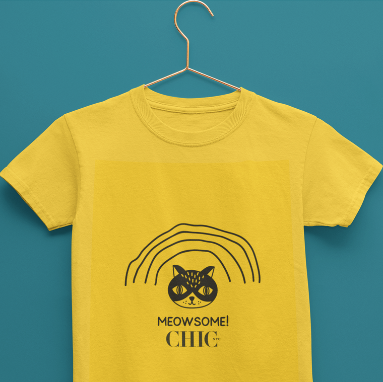 Meowsome Kids T-Shirt