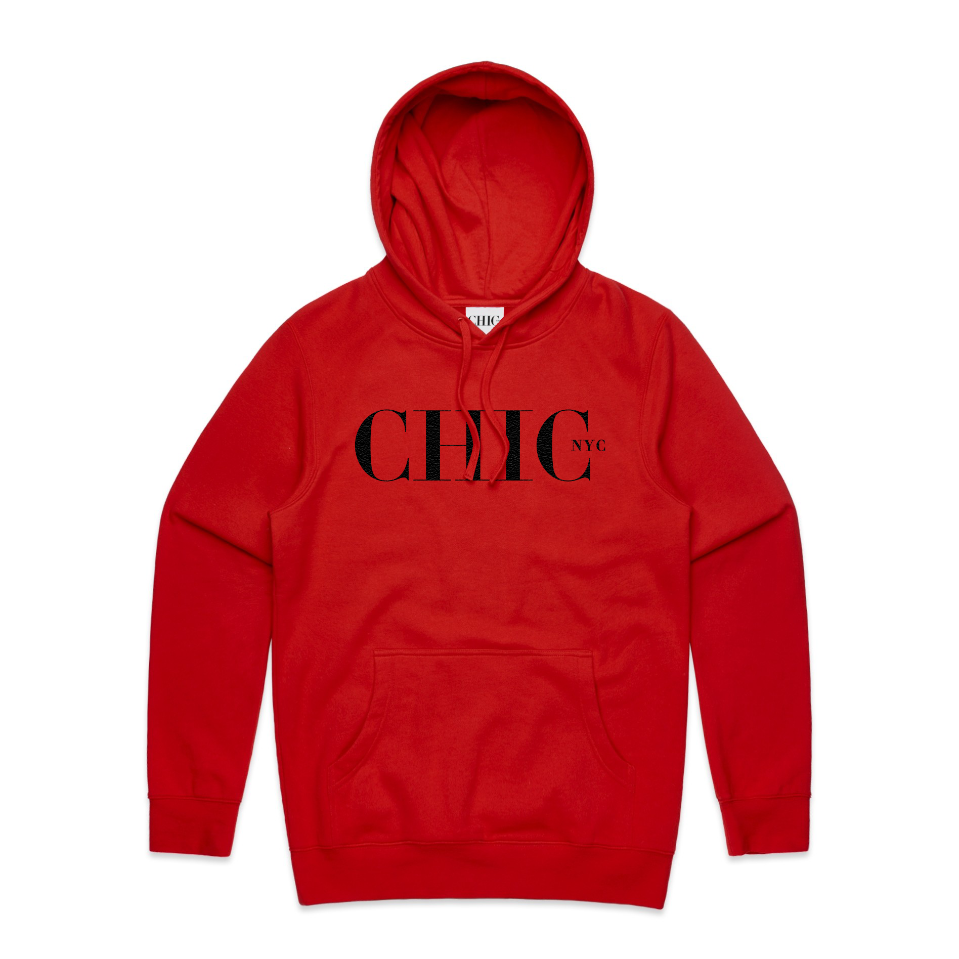 CHIC NYC MAN Hoodie - Red