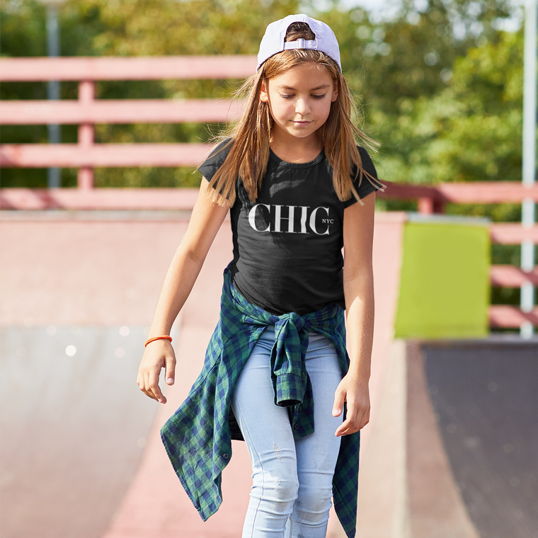 CHIC NYC Black Kids T-Shirt
