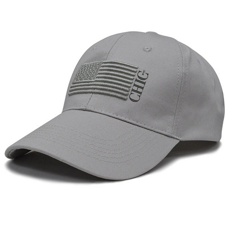 Chic NYC American Hat - Gray