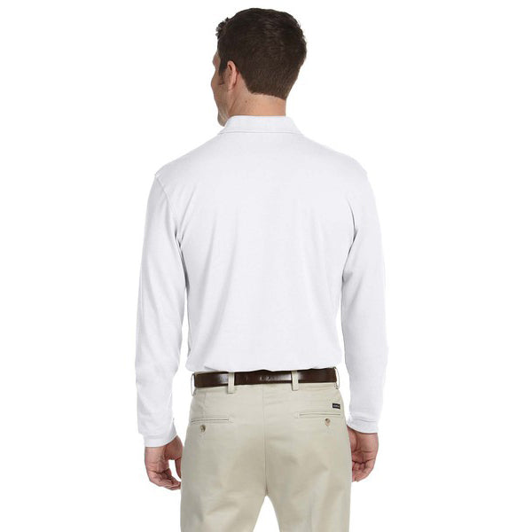 White Polo Sweatshirt