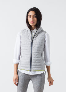 Primula Vest in Light Grey