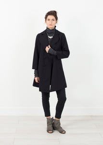 Day Coat in Navy