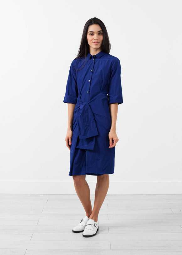 Tied Sleeve Dress