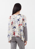 Long Sleeve Box Blouse