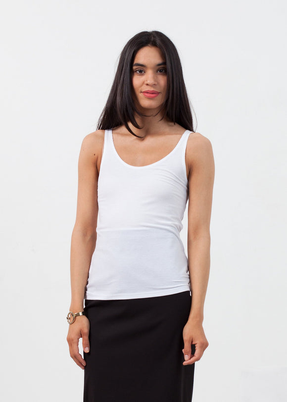 Feather Ribbed Tank