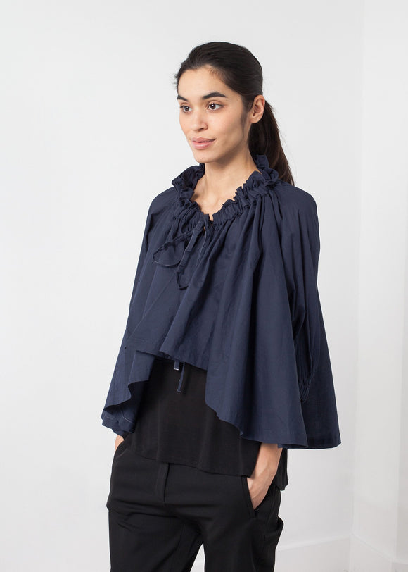Ruffled Cabin Top