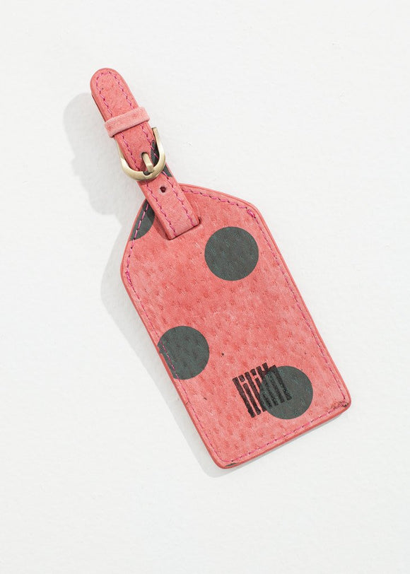 Oscar Luggage Tag in Rose