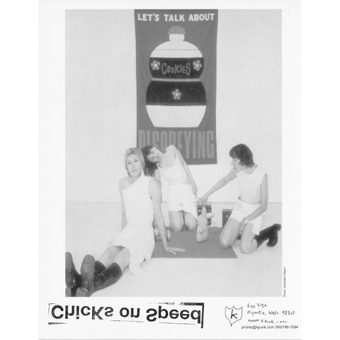 Chicks on Speed Promo Glossy