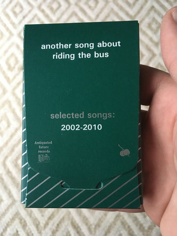 Another Song about Riding the Bus: Selected Songs 2002-2020 (Antiquated Future Records) cassette tape