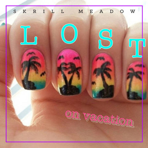 Lost on Vacation LP (P.I.A.P.T.K. Records)