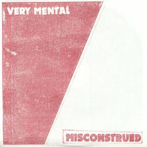 "Misconstrued (Total Punk Records)  7"" 45rpm"
