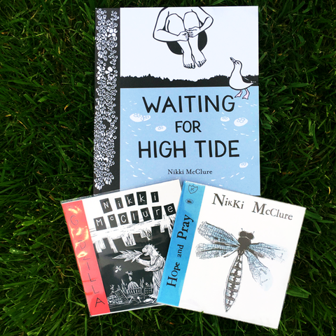 "Waiting for High Tide [Book] + 2 Free 7""s!"