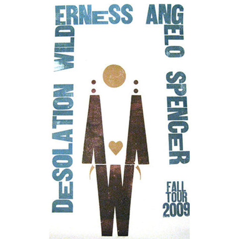 Angelo Spencer Fall 2009 Tour Poster