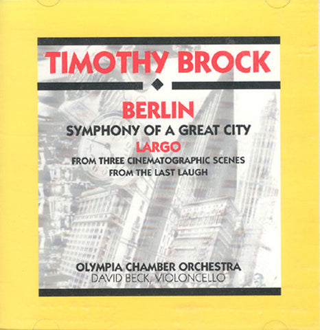 Berlin: Symphony of a Great City CD [KOCO2]