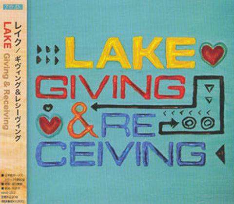 Giving & Receiving Japanese Import CD