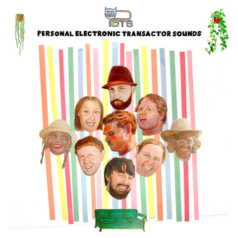 Personal Electronic Transactor Sounds LP (Funkytonk Records)