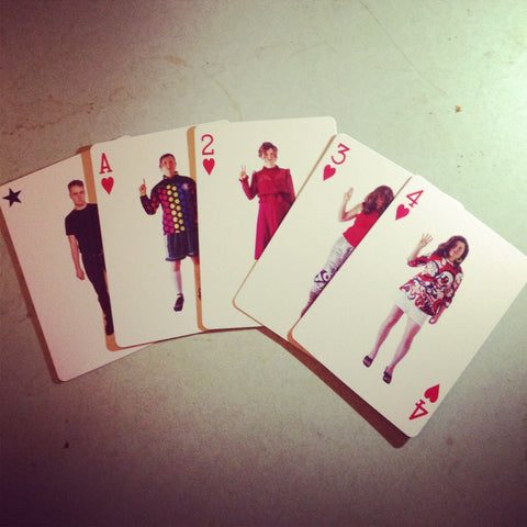 'Joyride' Playing Cards