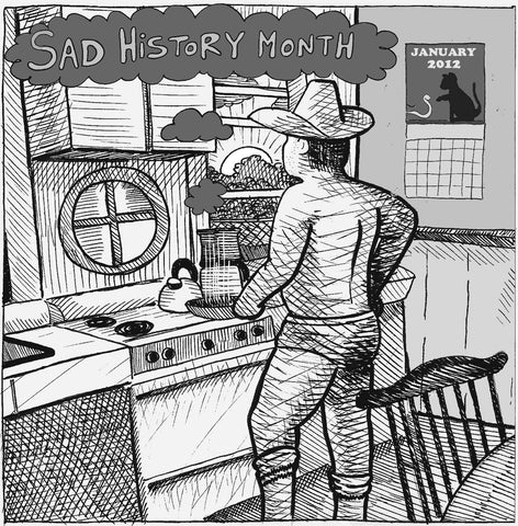 "Sad History Month 7"" + download (Exploding in Sound)"