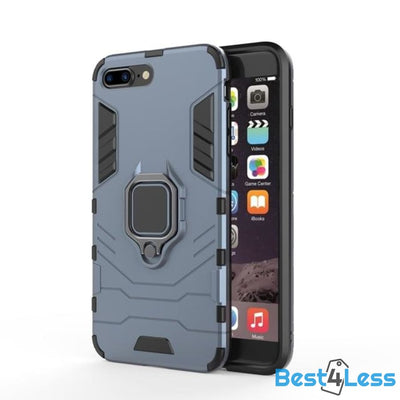 Best4Less Shockproof iPhone Case - Navy / For iPhone 5 5S SE
