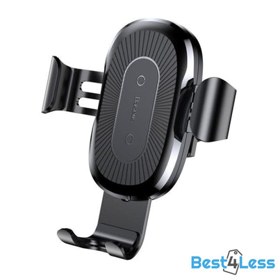 Wireless Phone Charger & Car Mount - Black