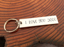 I Love You 3000 Keychain