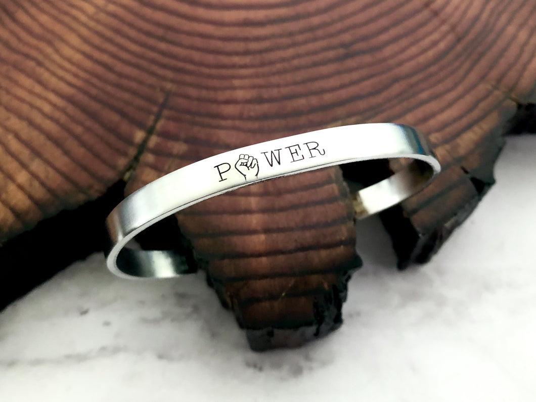 Power Black Lives Matter Solidarity Bracelet