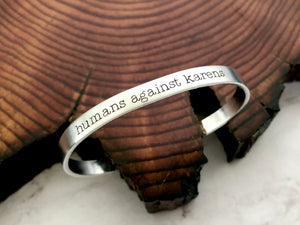 Humans Against Karens Anti-Bully Bracelet
