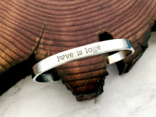 Love Is Love Equality LGBTQ+ Friendly Bracelet