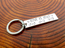 Love is Love Equality Keychain