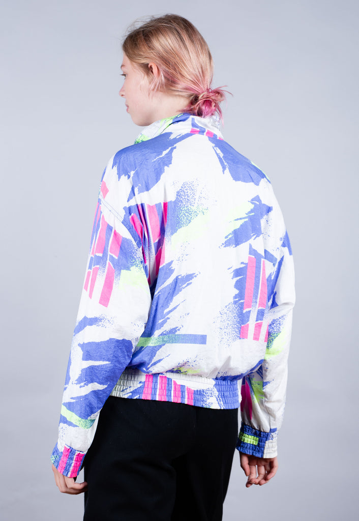 Rare 90's Nike Multi Colour Challenge Court All Over Print Track Jacket
