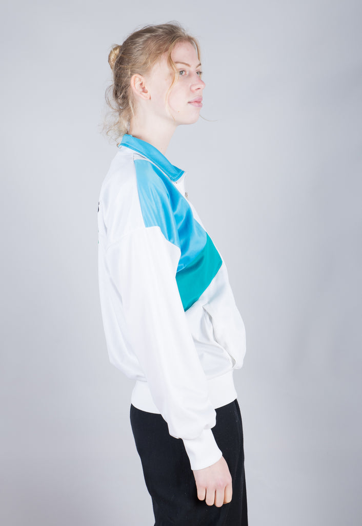 80's Nike Multi Small Logo Embroidered Windbreaker