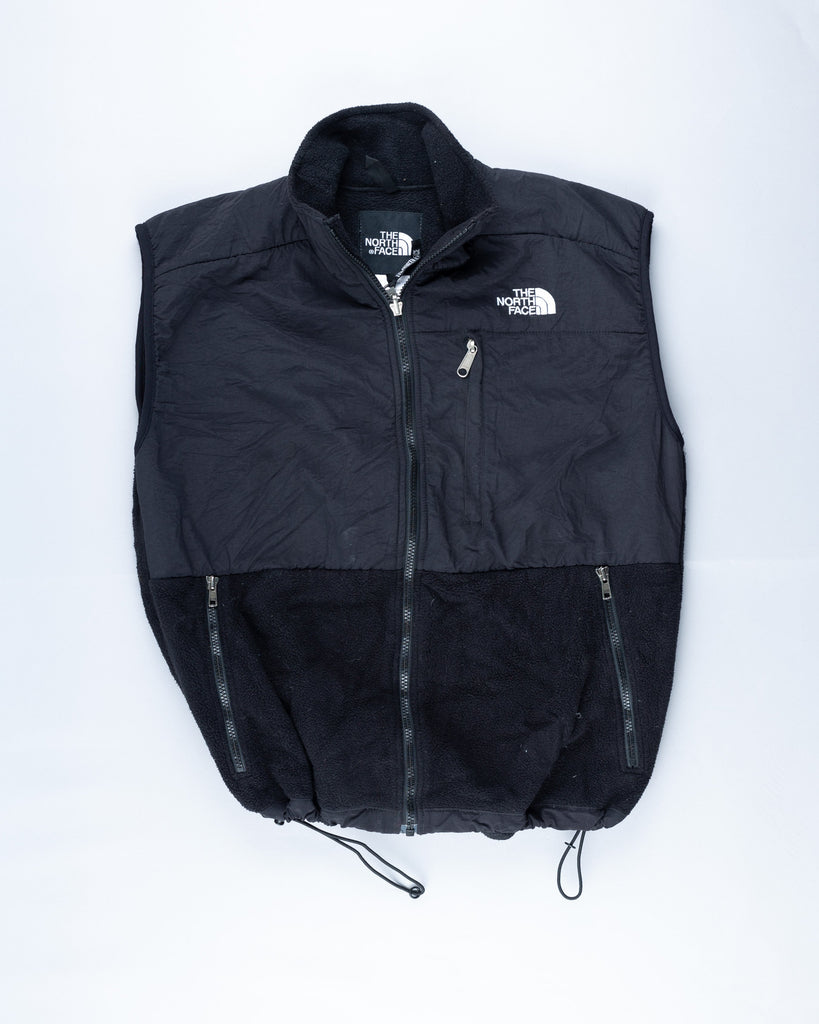 90's The North Face Black Fleece Vest