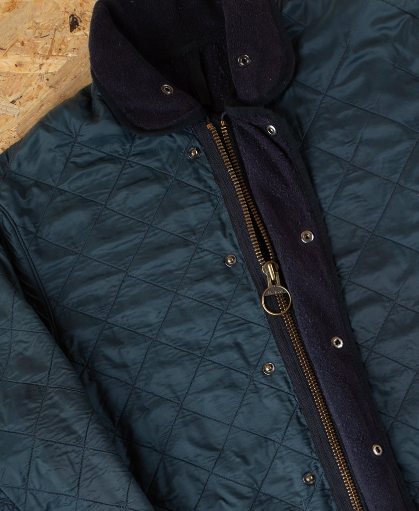 90's Barbour Green Quilted Hunting Coat