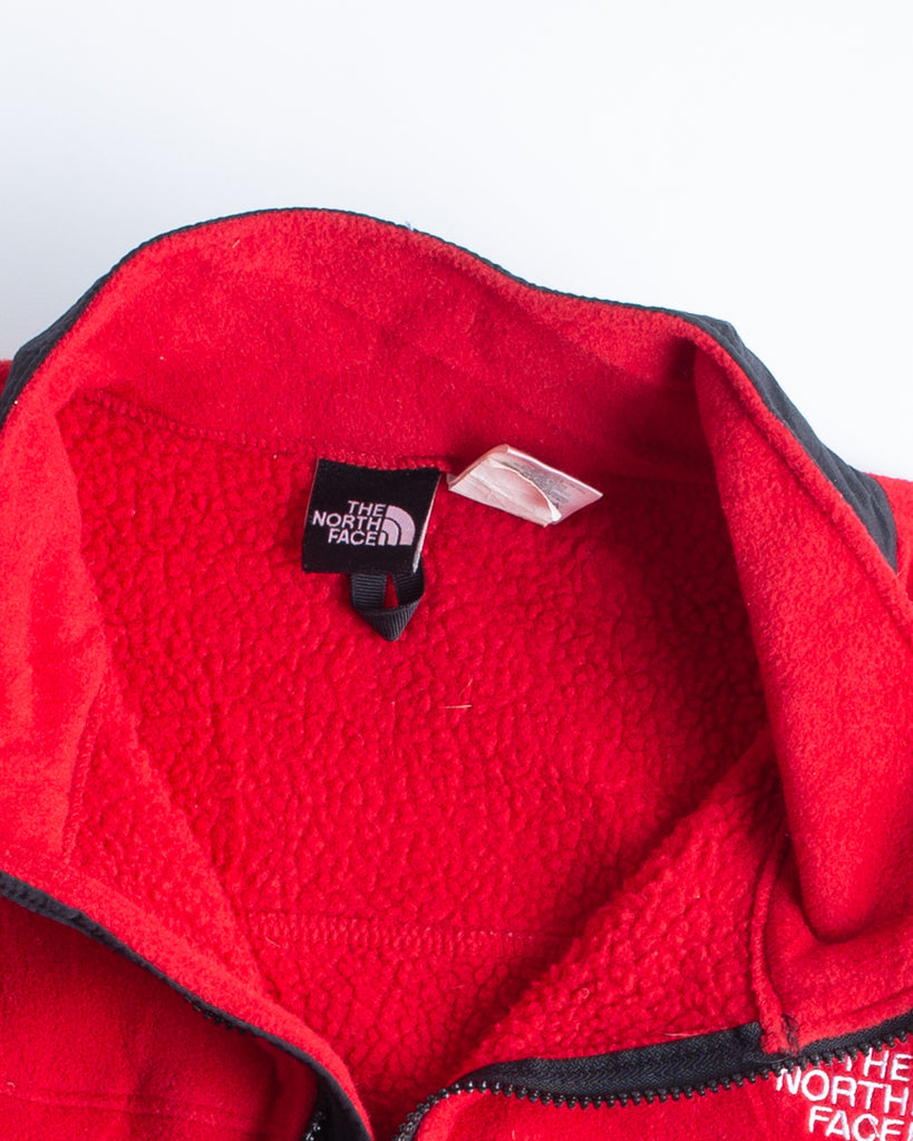 90's The North Face Red Fleece Vest