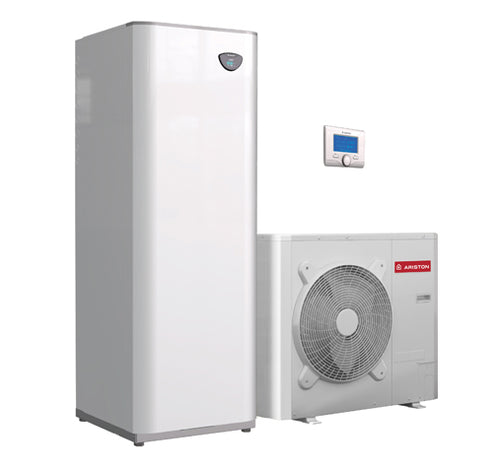 Ariston warmte pomp 8 kW met energie label A+++
