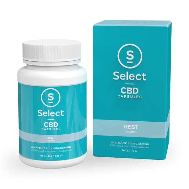 Rest | CBD Gel Capsules - Worldhempire