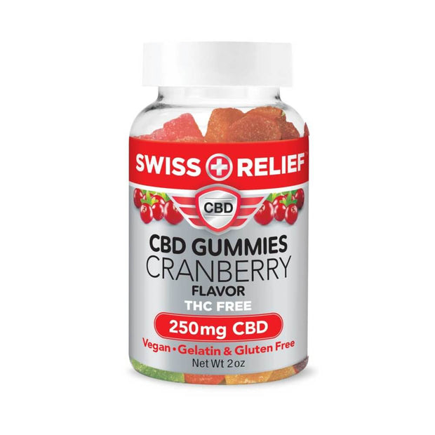 CBD Cranberry Gummies - Worldhempire