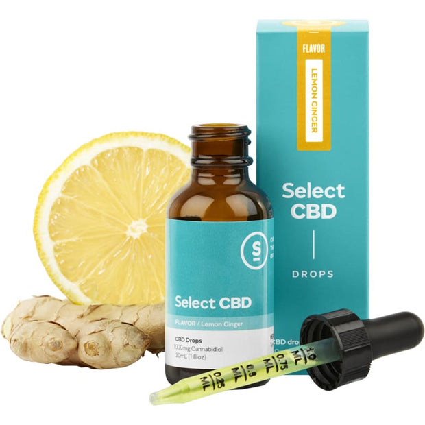 Lemon Ginger Drops - 1000mg - Worldhempire