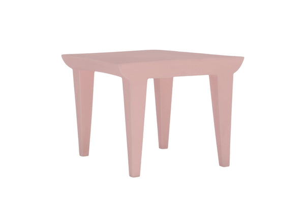 Kartell Bubble Club Table - Dusty Pink
