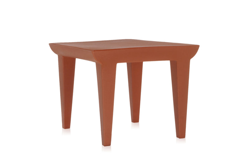 Kartell Bubble Club Table - Earth Red