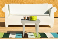 Kartell Bubble Club Table - Zinc White