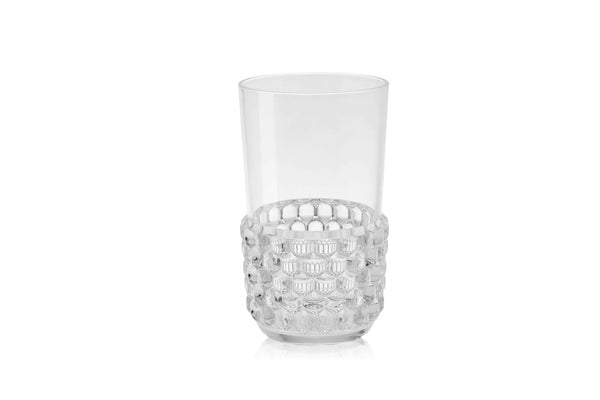 Kartell Jellies Family 4 x Long Drink Glass Crystal