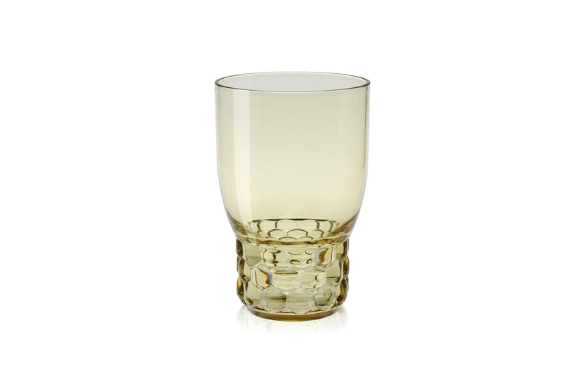 Kartell Jellies Family 4 x Water Glasses Crystal